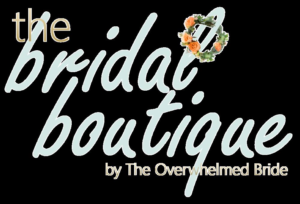 the bridal boutique // bridal accessories
