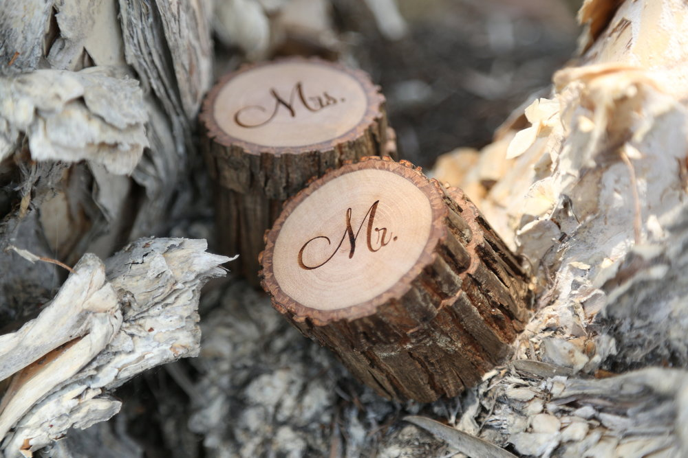rustic ring bearer box