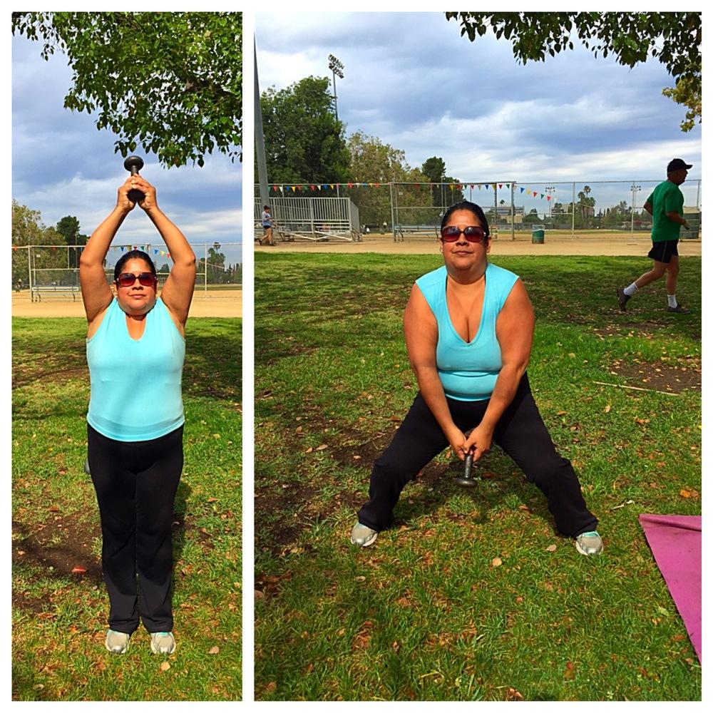 chop squat workout routine for brides