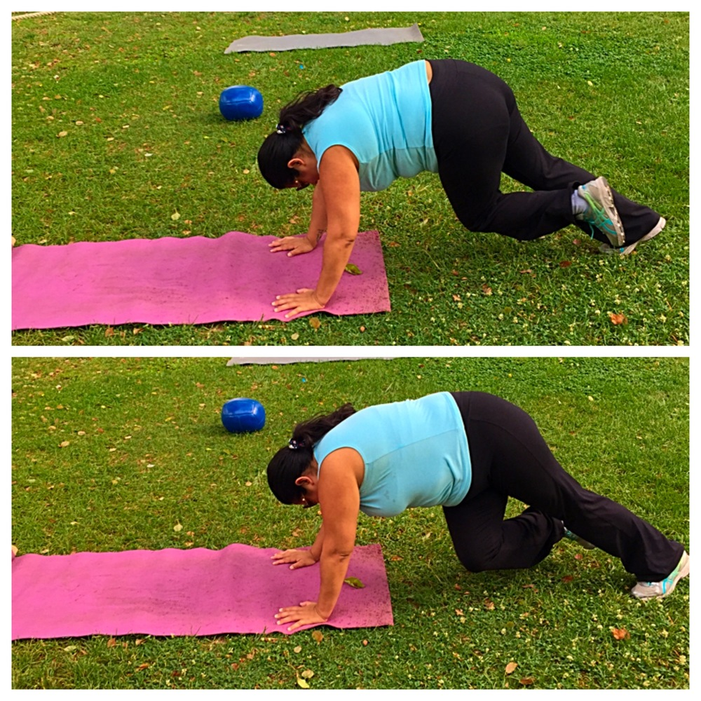 mountain climbers workout routine for brides