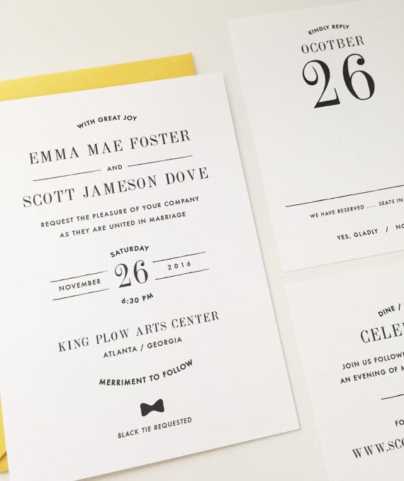 18 Simple Inexpensive Wedding Invitations The Overwhelmed Bride