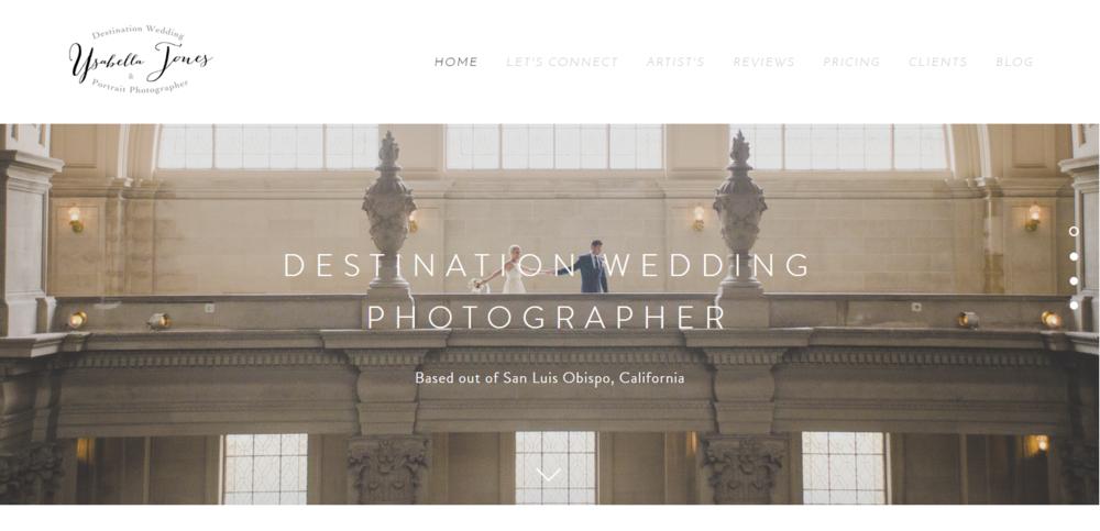 Ysabella Jones Photography  ( The Bride List  preferred vendor)