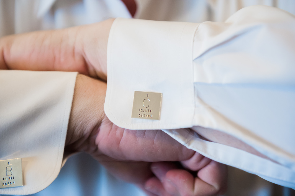 groom cuff links