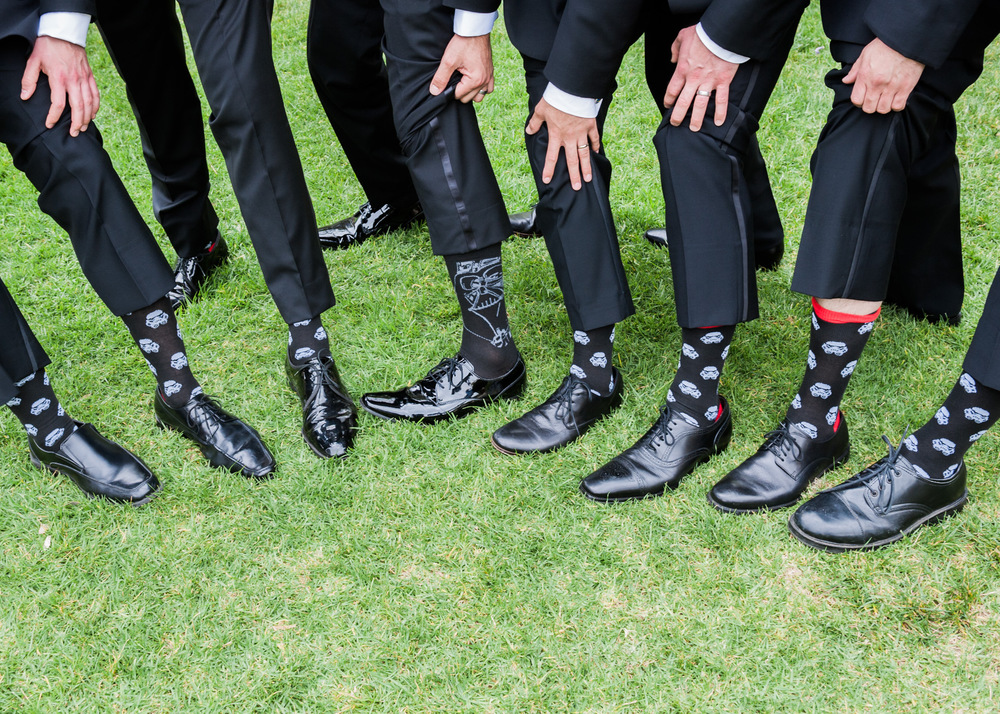groom groomsman socks