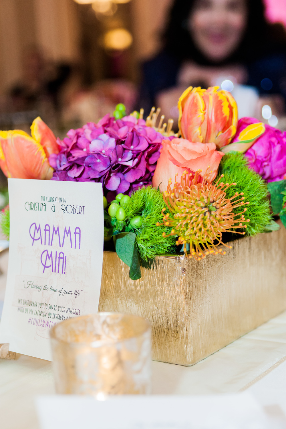 musical themed wedding table names