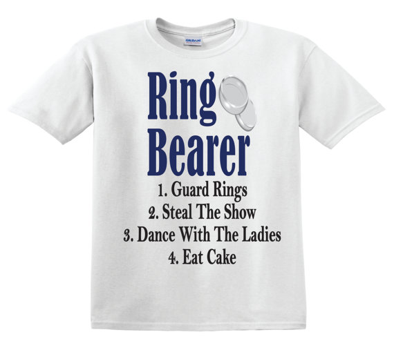 Ring Bearer Rules - Ring Bearer Shirt