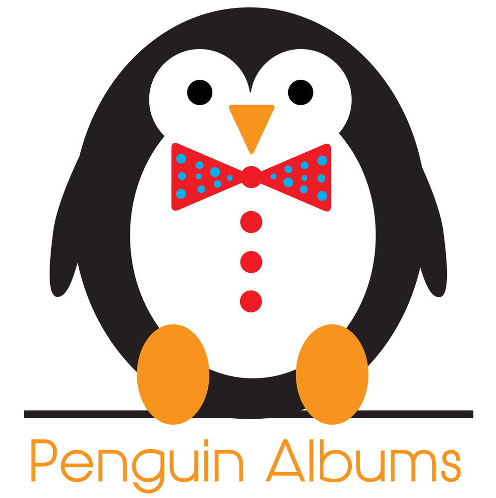 wedding albums etsy // penguin albums