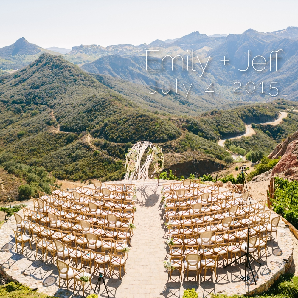 Malibu Rocky Oaks Wedding // // southern california wedding planner // the overwhelmed bride wedding blog