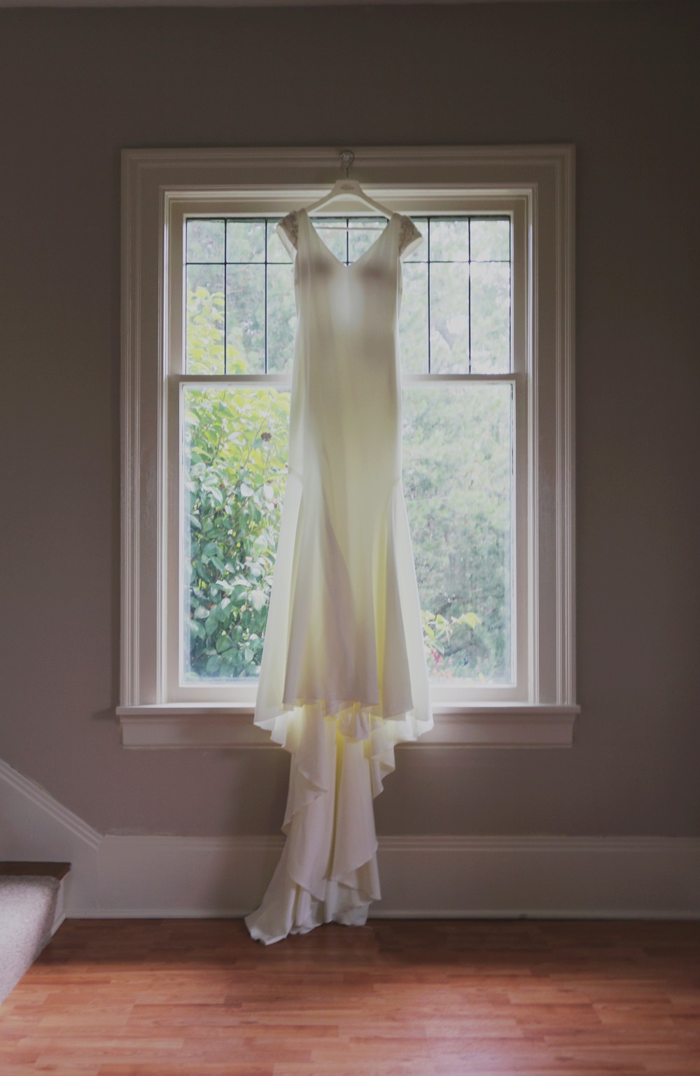 Marilyn Monroe-Inspired Wedding dress
