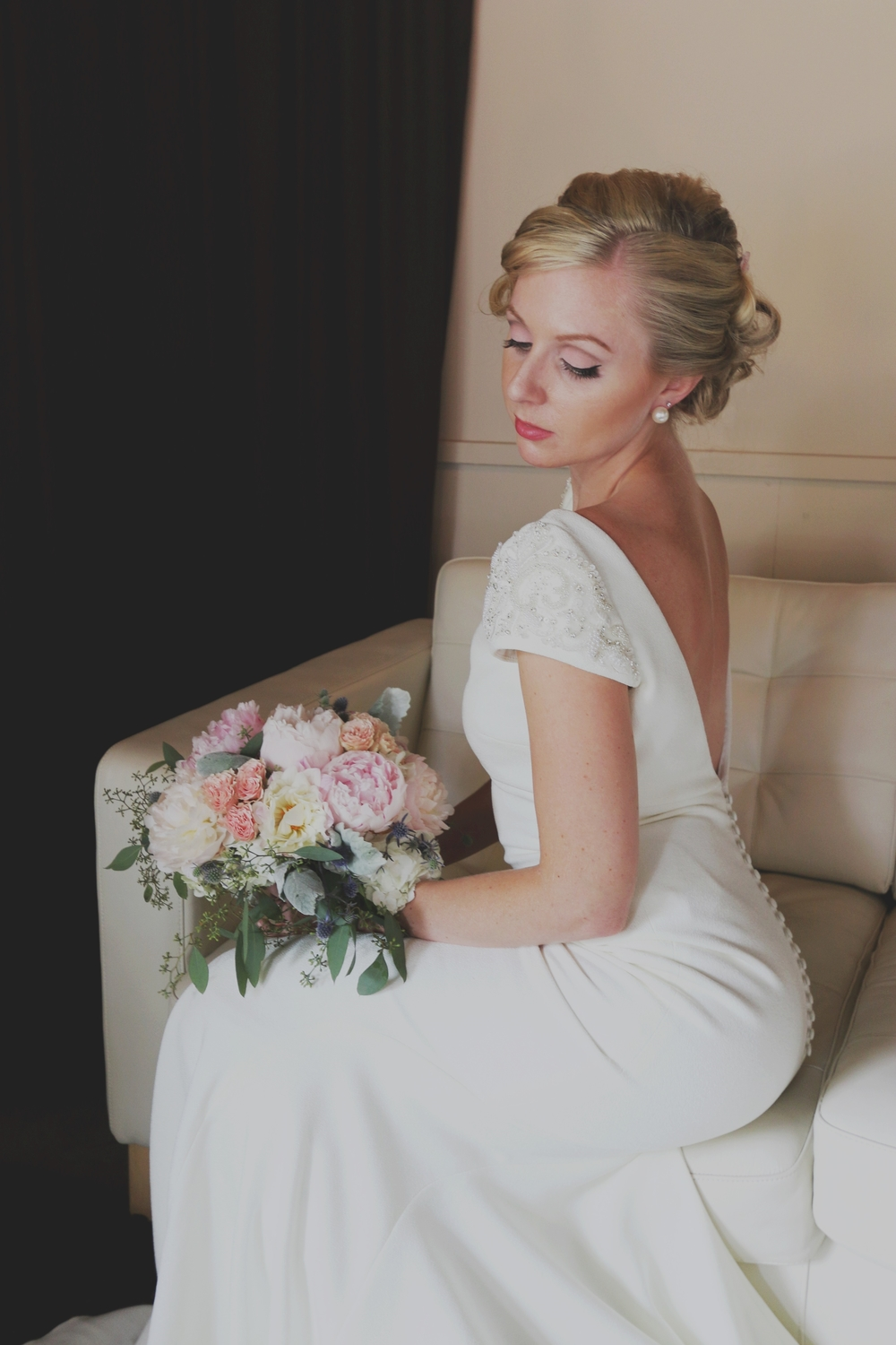 styled shoot a marilyn monroeinspired wedding � the