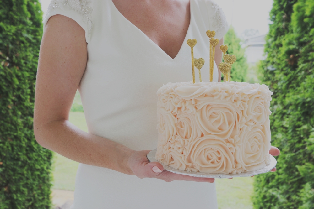 Marilyn Monroe-Inspired Wedding cake