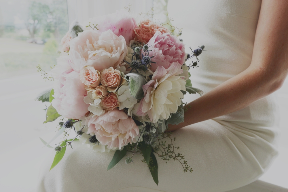 Marilyn Monroe-Inspired Wedding bouquet