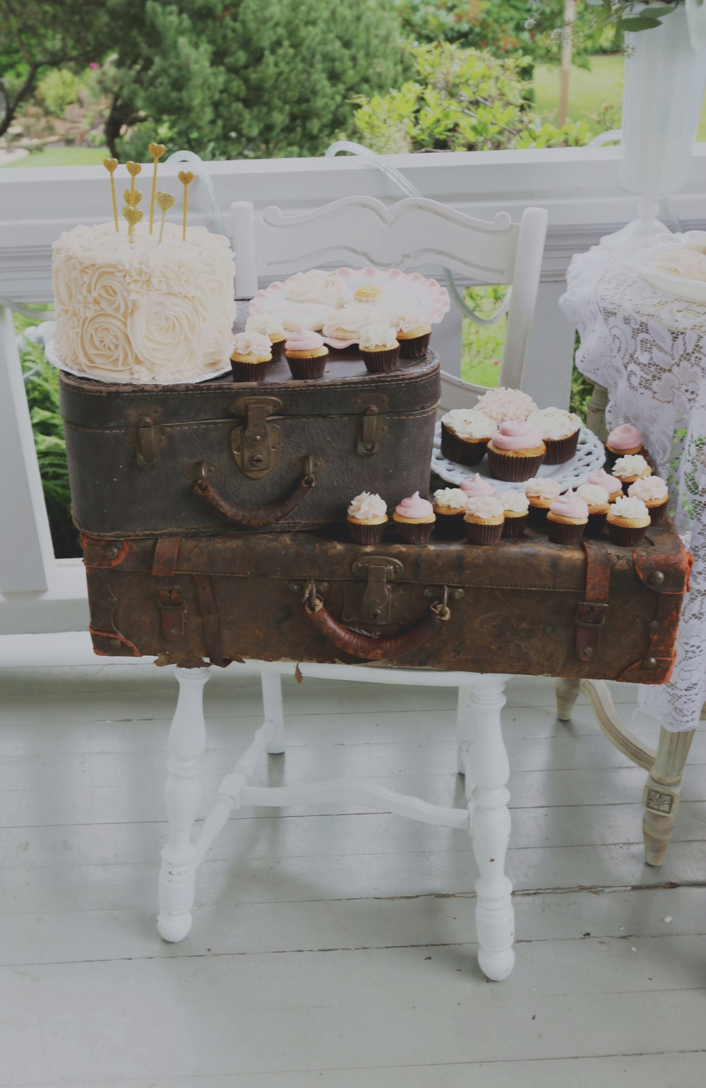 Marilyn Monroe-Inspired Wedding candy bar candy buffet