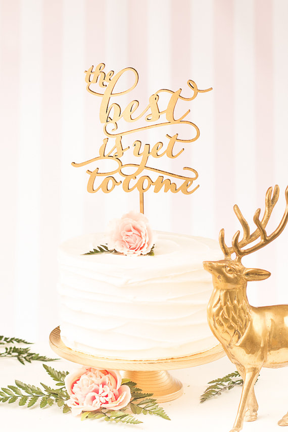 20 Gorgeous Laser Cut Cake Toppers The Overwhelmed Bride