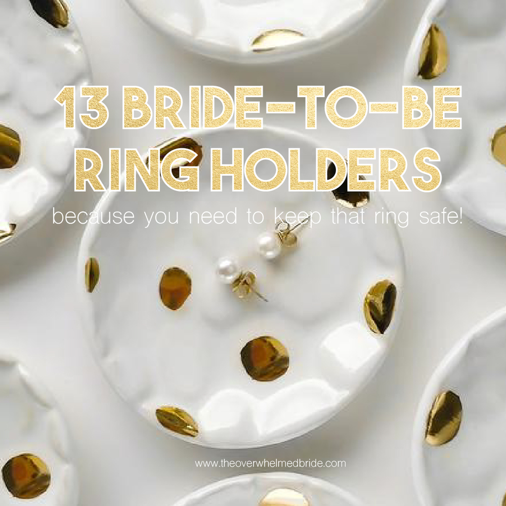 engagement ring holders ring dishes