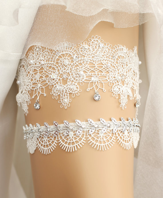 17 lace wedding garters garter sets all under 50 that are 17 lace wedding garters garter sets all under 50 that are perfect for every bride the overwhelmed bride wedding blog socal wedding planner junglespirit Gallery