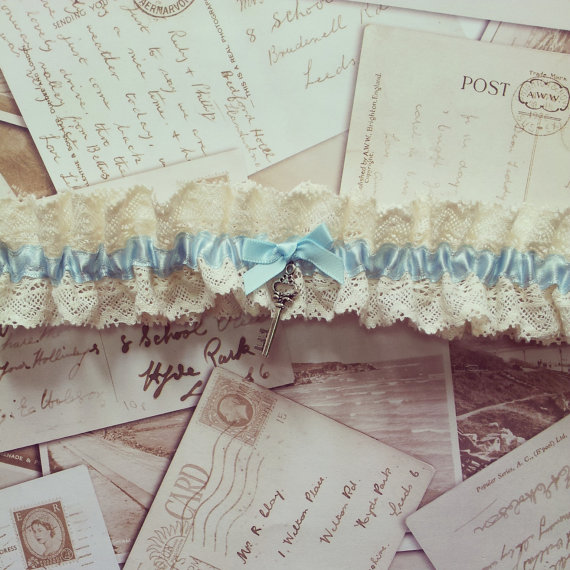 17 Lace Wedding Garters + Garter Sets (all Under $50) That