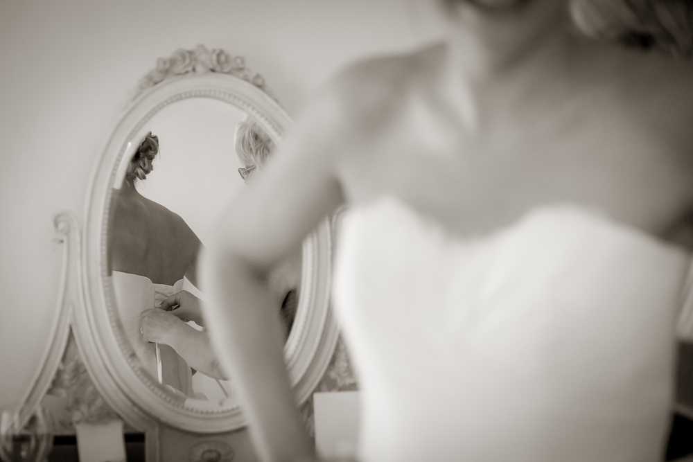 bride getting ready photos // white wedding shoes // Rocksalt Photography