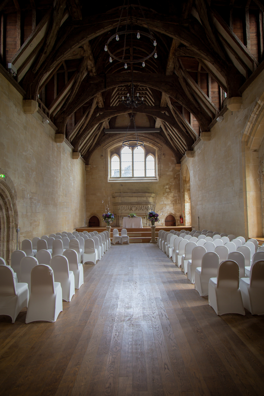 castle wedding ceremony venue Wales UK // Rocksalt Photography