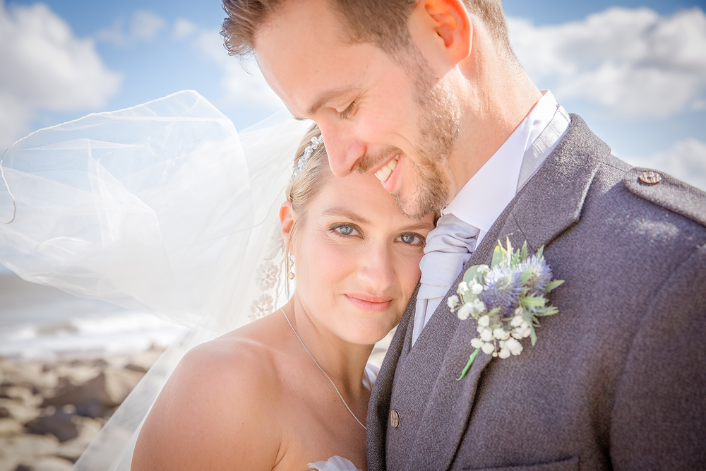 bride and groom amazing wedding photography shots //  castle wedding venue Wales UK // Rocksalt Photography