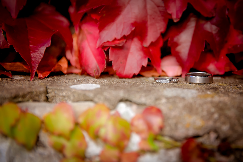 amazing wedding ring shots //  castle wedding venue Wales UK // Rocksalt Photography