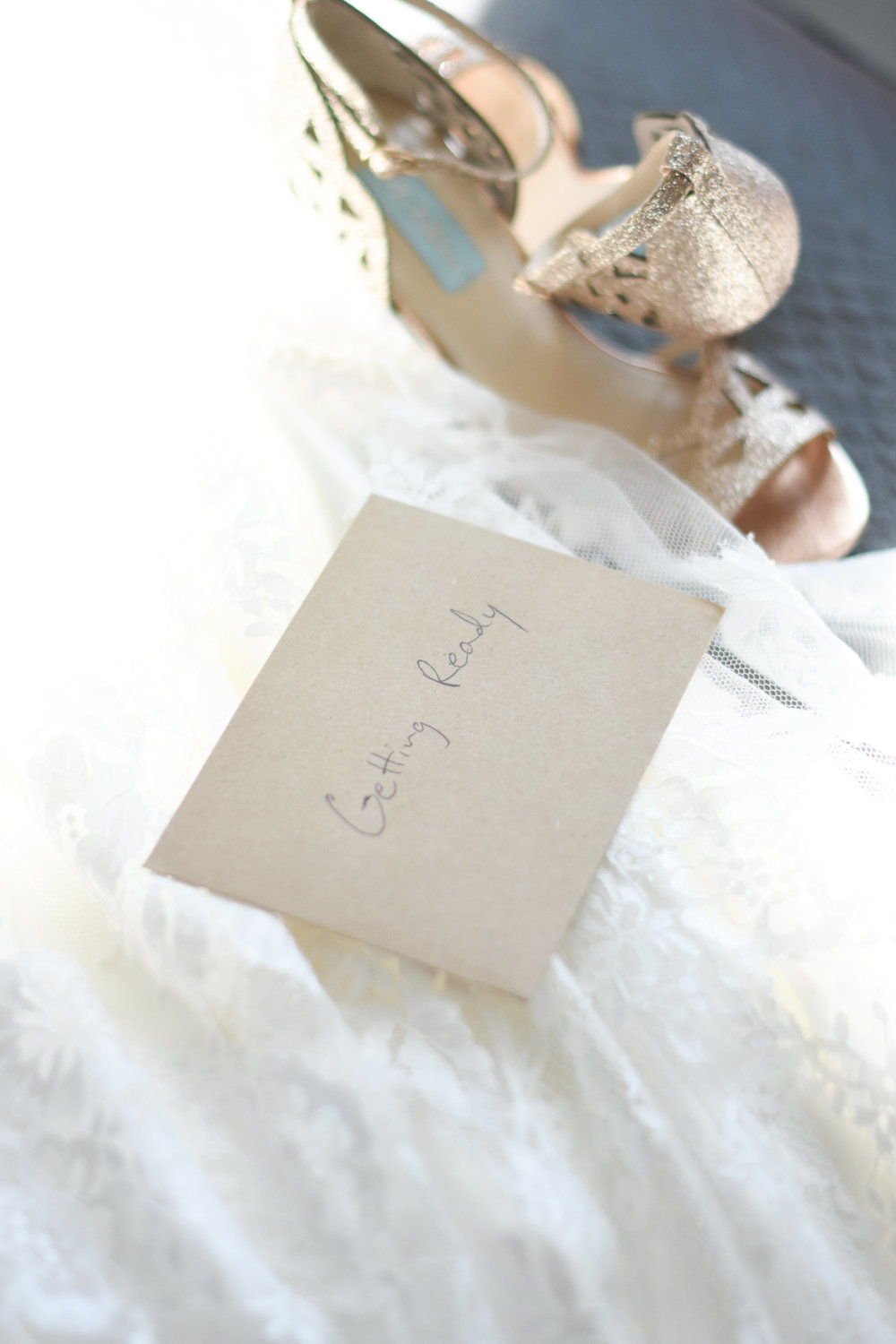 a letter to bride on wedding day// macy marie photography wedding