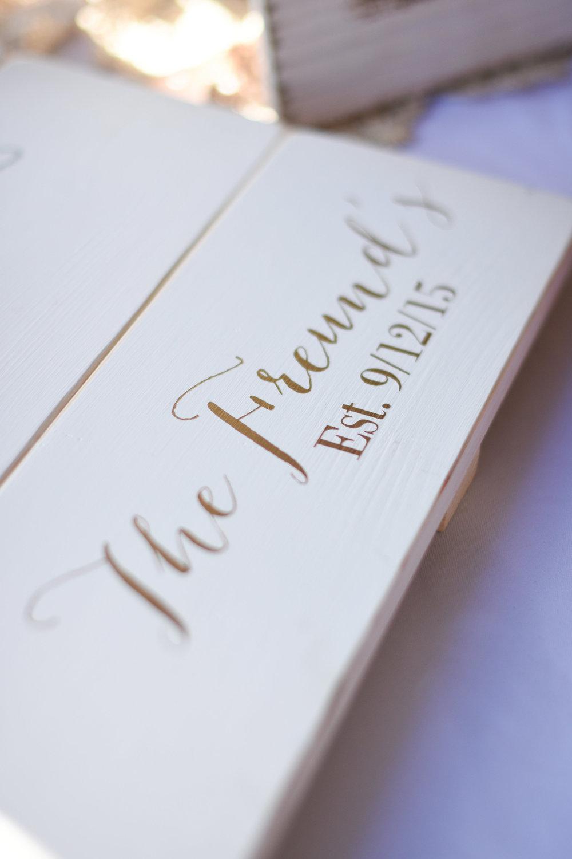 altternative guest book ideas // macy marie photography wedding