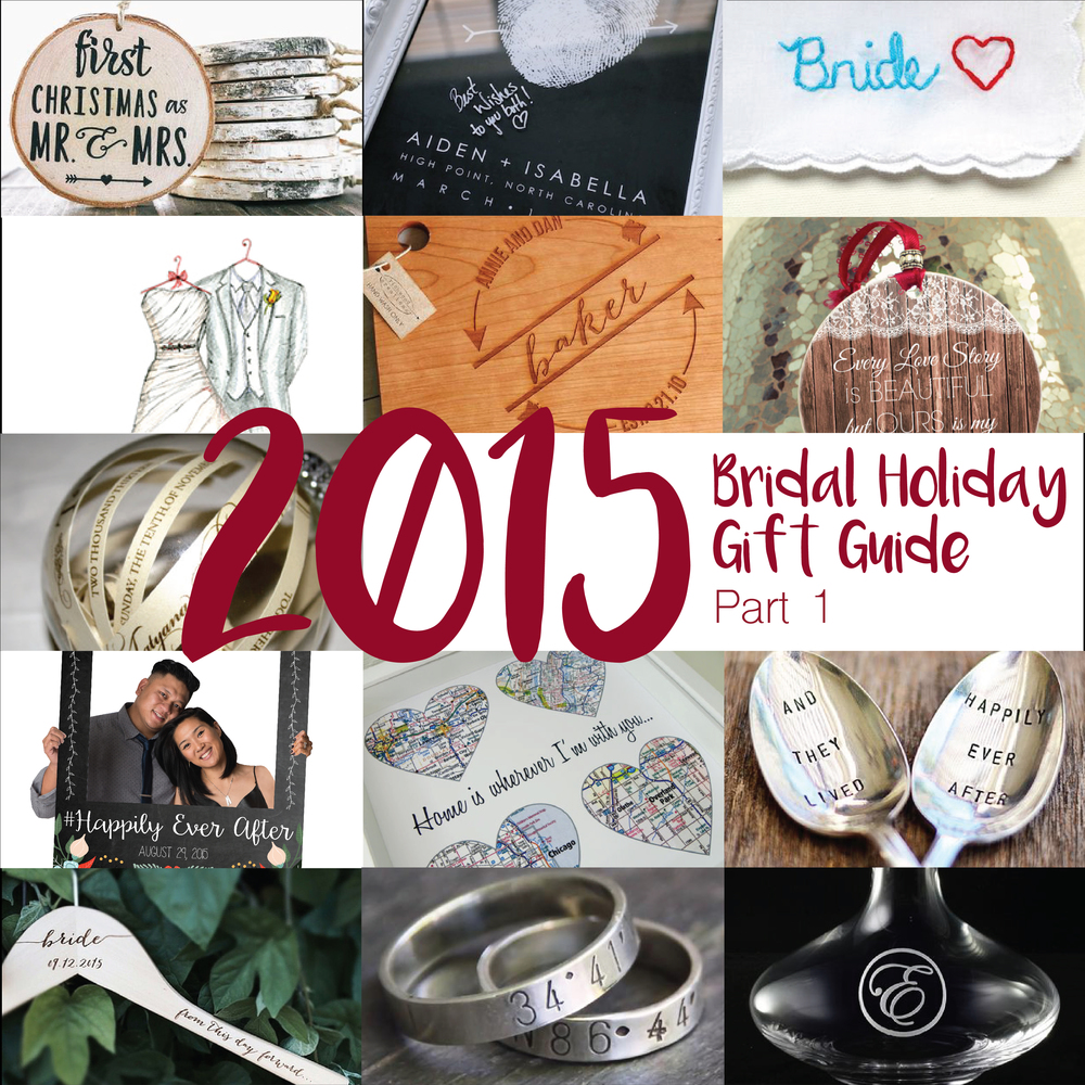 holiday gift ideas for a bride to be