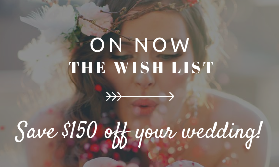 the wish list - wedding discounts