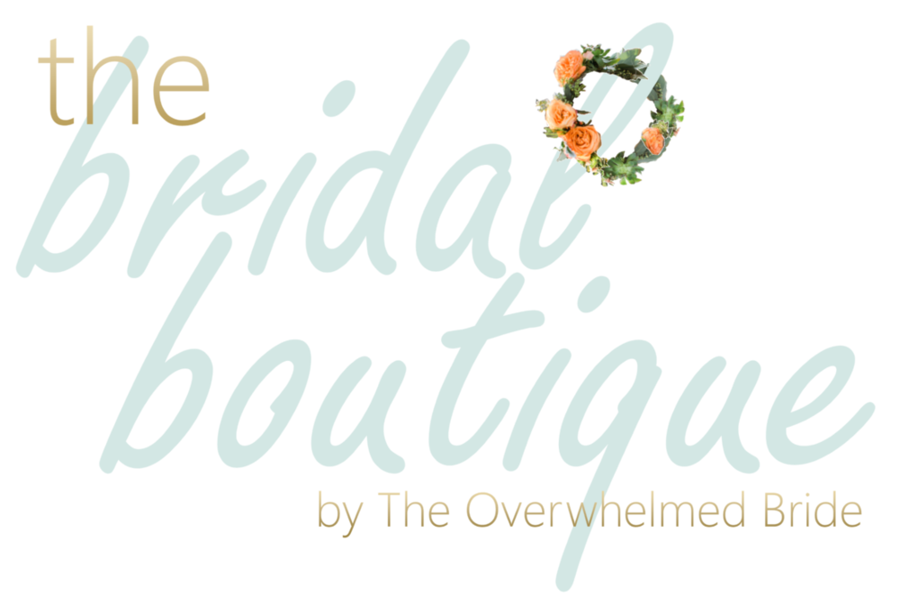 the bridal boutique // shop wedding items