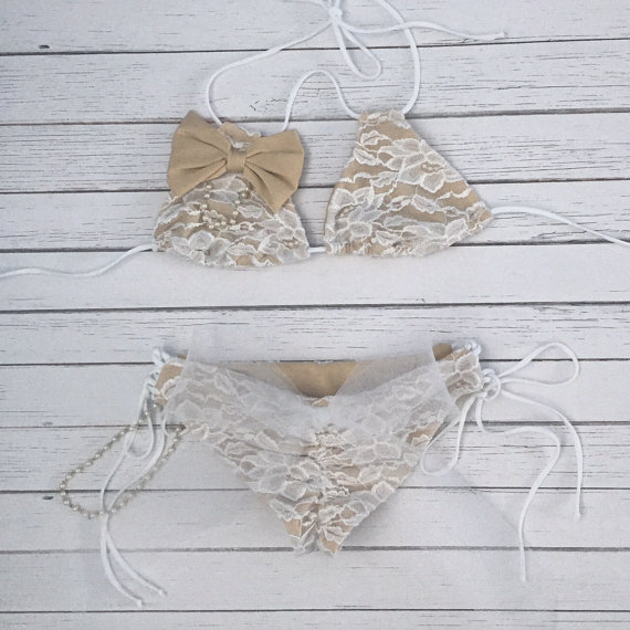rustic lace bikini honeymoon must haves