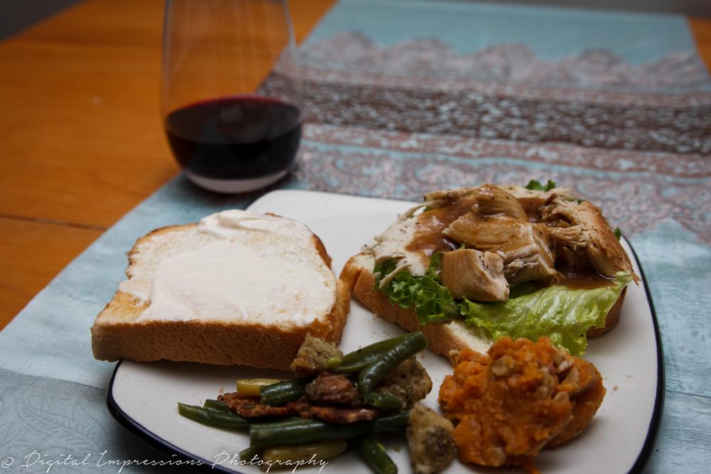 date night ideas - hot leftover sandwich recipe