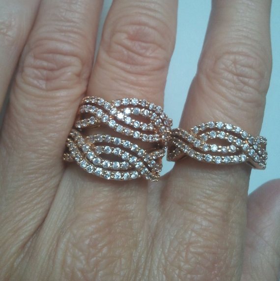 bridal statement ring
