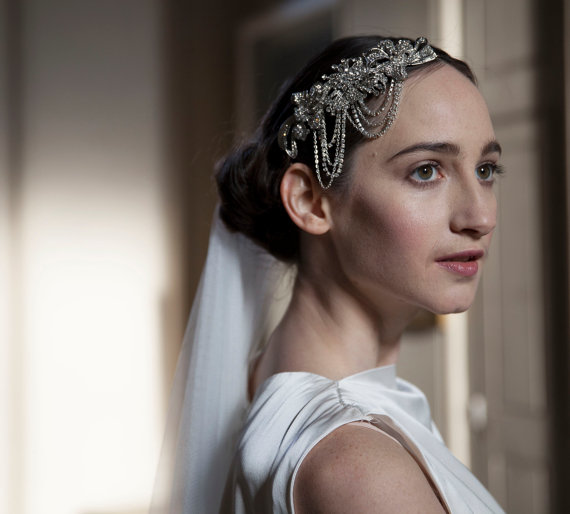 Bridal Statement Headpieces + Headbands