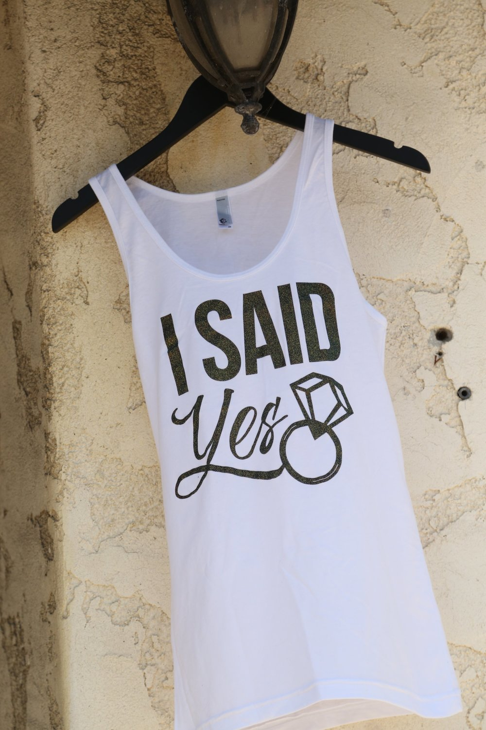 i said yes - thats what she said bridal tanks