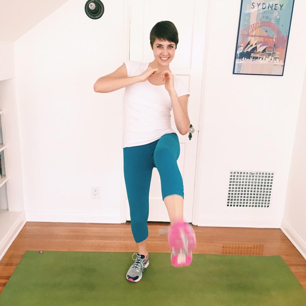 bridal slimming leg workout