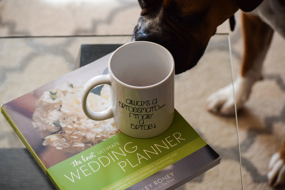 """Finally A Bride"" Wedding Planning Mug by The Chic Factory"