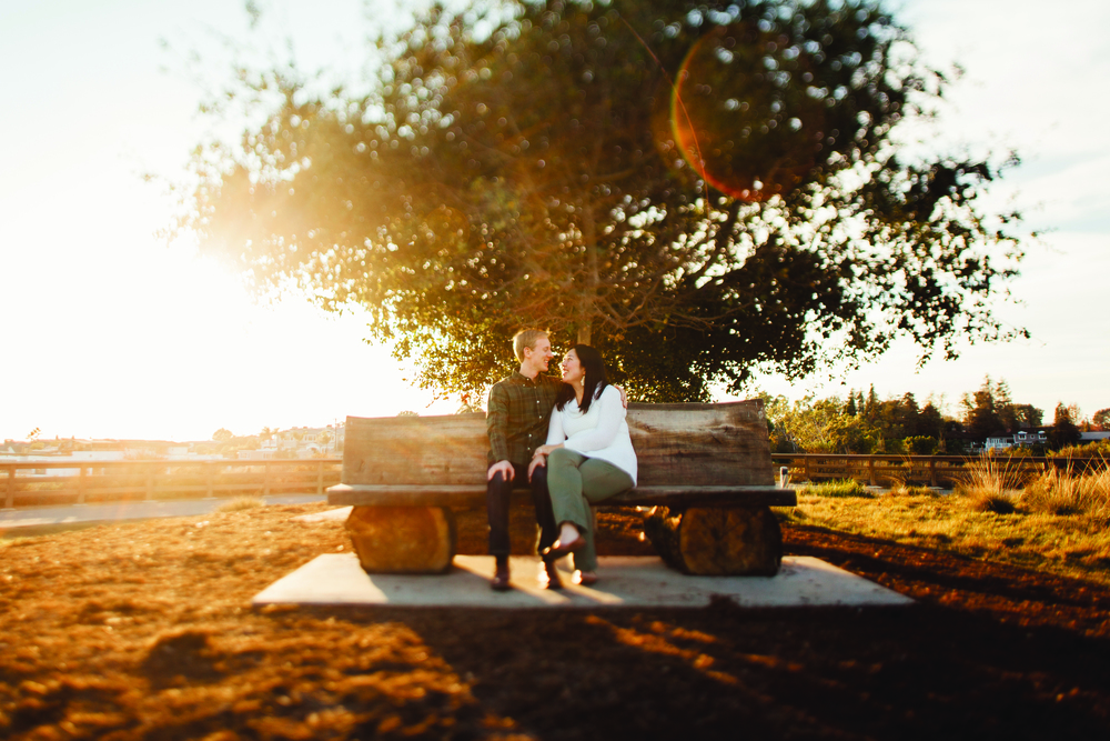 newport beach engagement photos - The Back Bay, Newport Dunes Marina, and Castaways Park