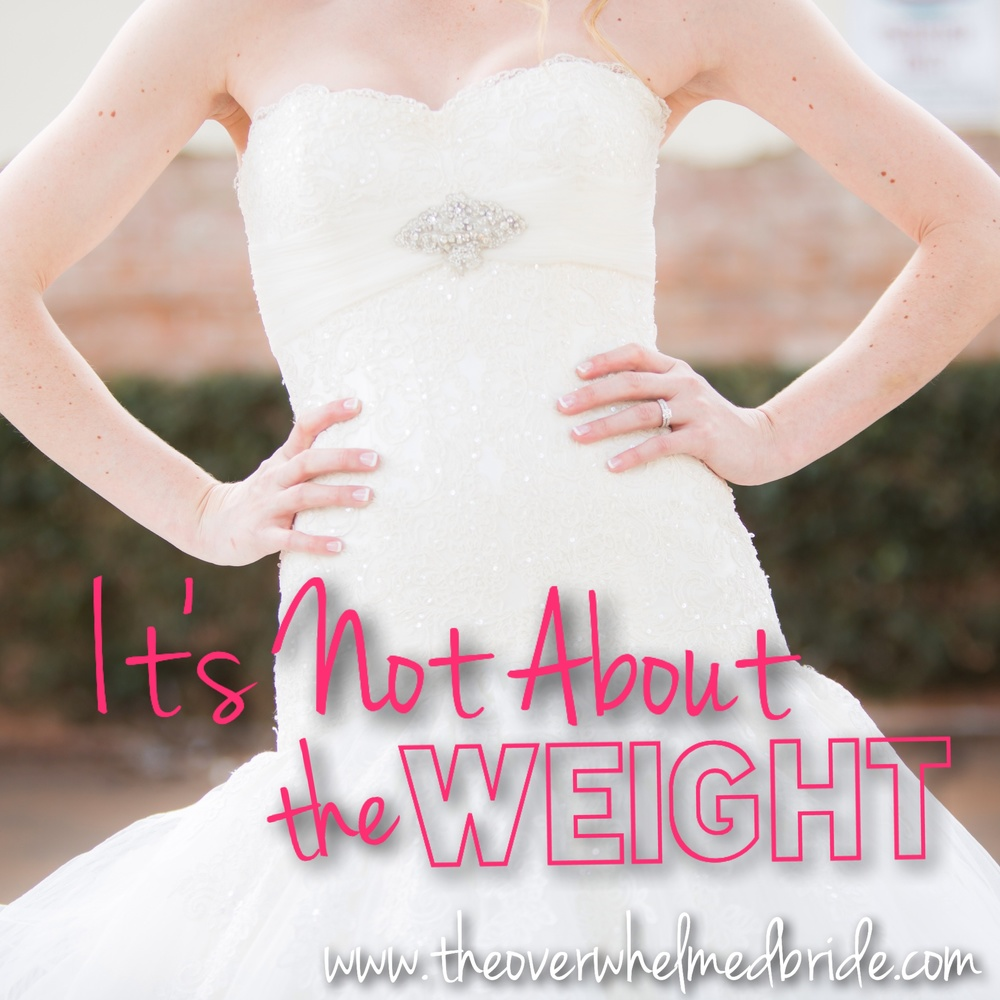 losing weight before the wedding
