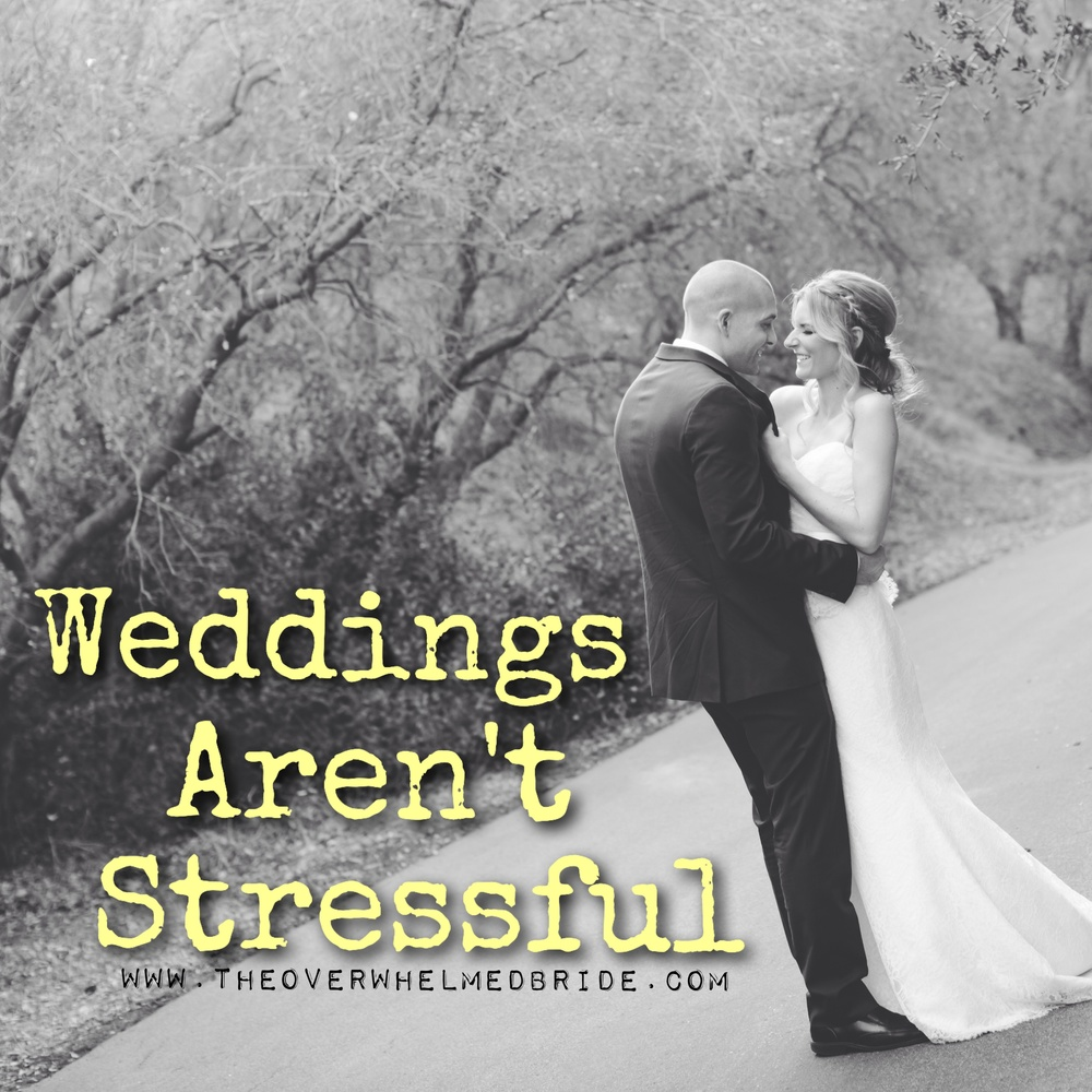 how to stay stress free while planning your wedding
