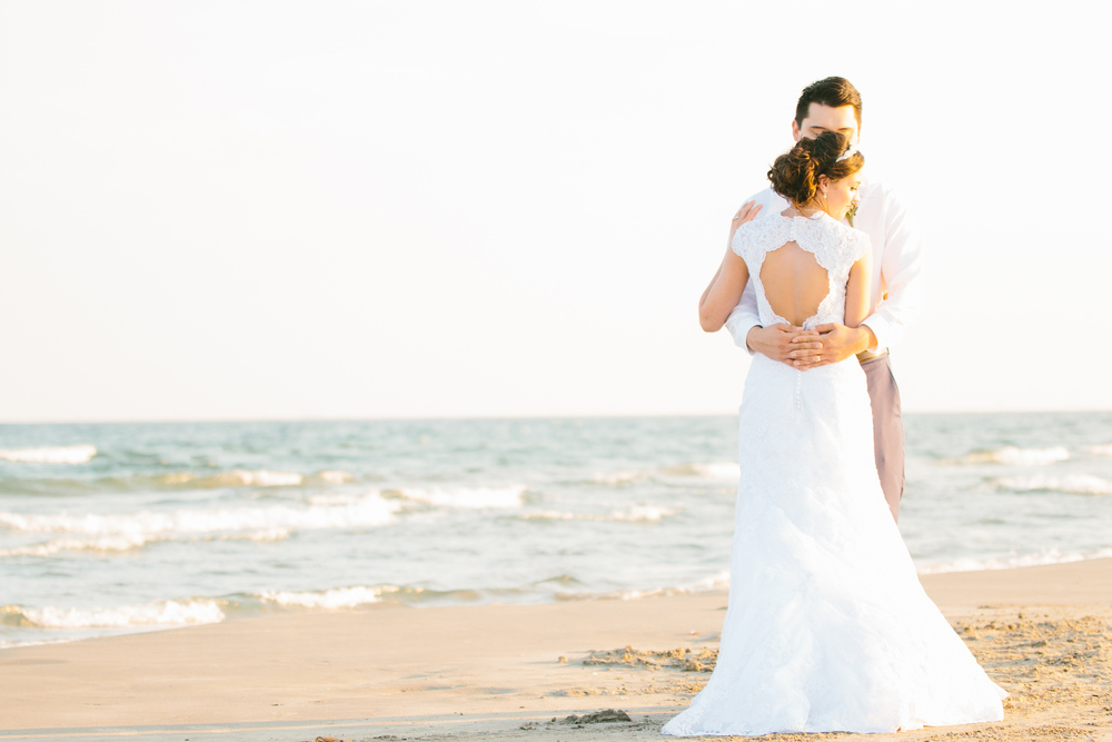 Port Aransas, Texas Beach Wedding - from britt's eye view photography
