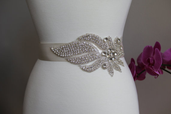 Affordable Bridal Belts + Sashes
