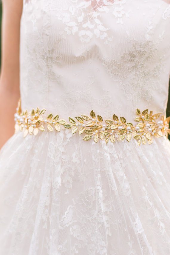 22 Affordable Bridal Belts + Sashes — The Overwhelmed Bride ...