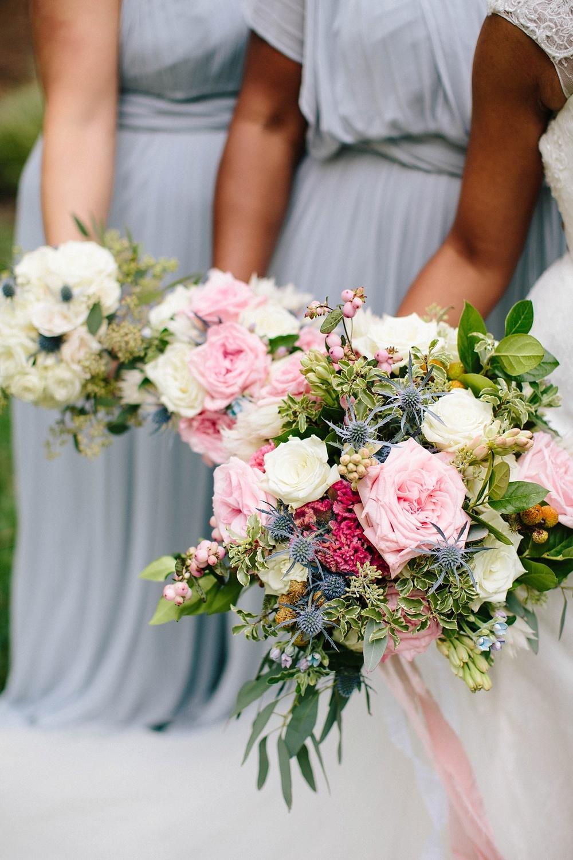 beautiful bridesmaid bouquets - davids bridal