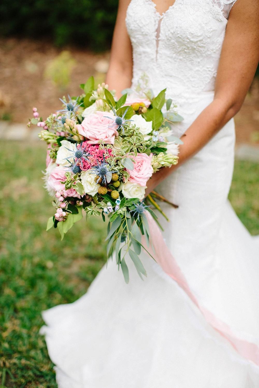 unique bridal bouquet, davids bridal