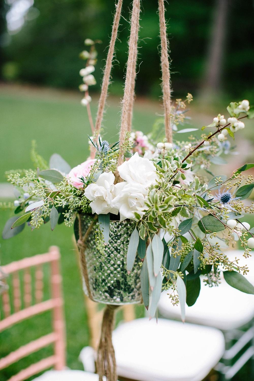 whimsical wedding ceremony decor - davids bridal