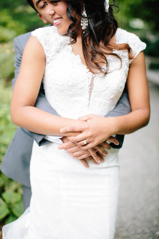 lace low back wedding dress - davids bridal
