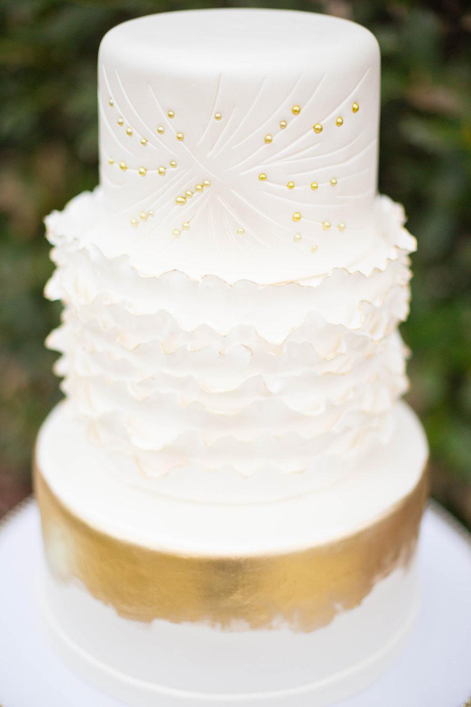 Square Individuality Wedding Cake Stand