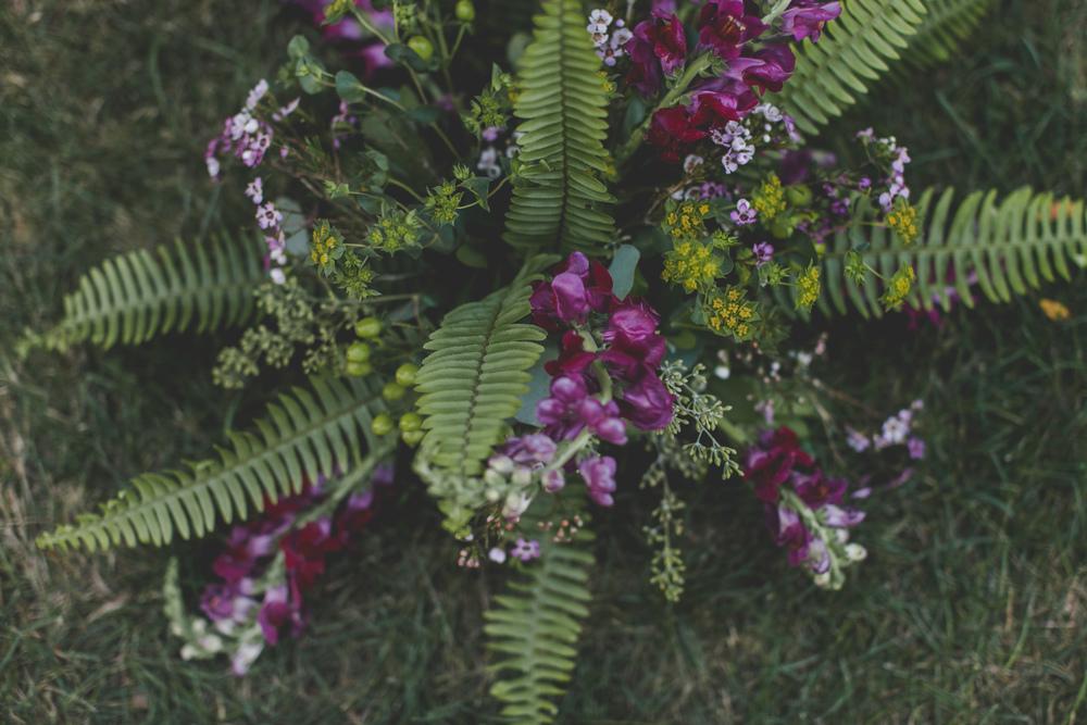 a classic Wisconsin backyard wedding - star wars wedding