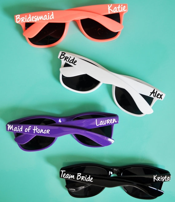 bachelorette party ideas - bachelorette party sunglasses